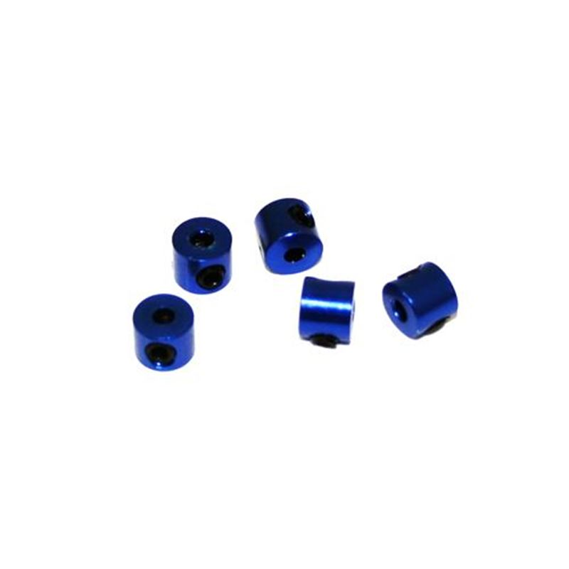 Picture of Ultimate Racing Aluminum Stopper (Blue) (2mm) (5pcs)