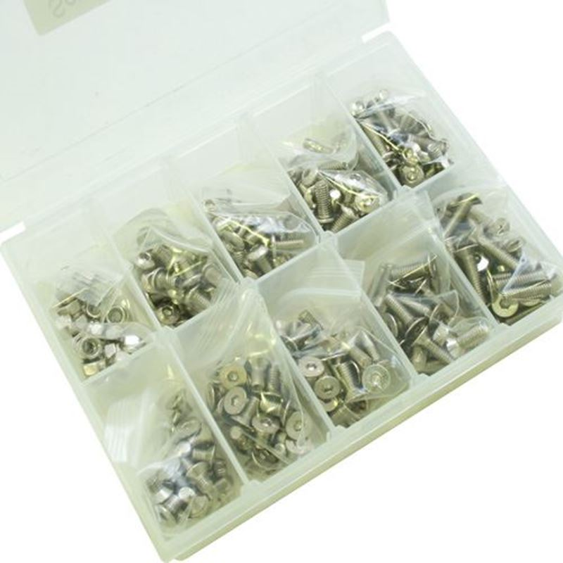 Picture of Ultimate Racing M3 Screw Kit (470pcs)