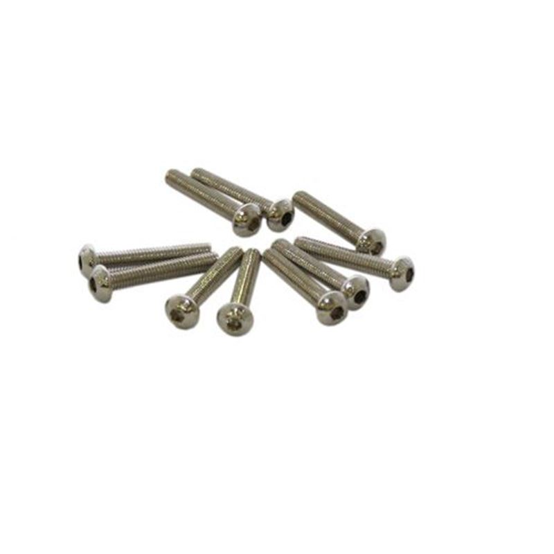 Picture of M3 x 20mm Button Head Screw (10pcs)