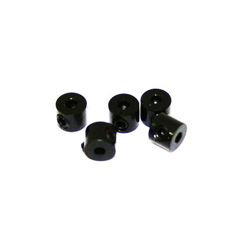 Picture of Ultimate Racing Aluminum Stopper (Black) (2mm) (5pcs)