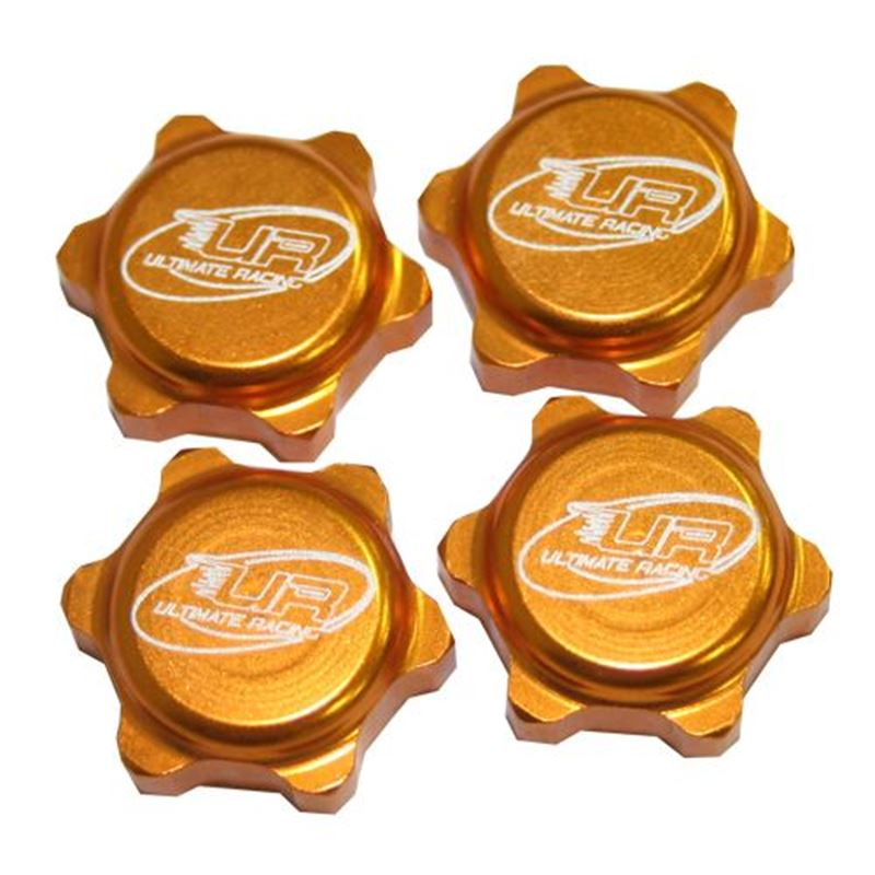 Picture of Lightweight Closed End Wheel Nut (Gold)