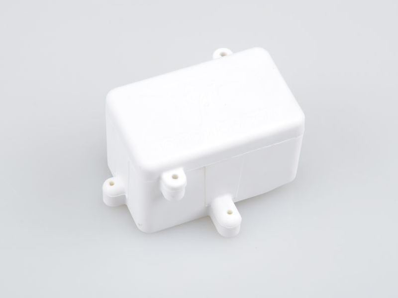 Picture of THE JQRacing White 2013 Radio Box (Rear)