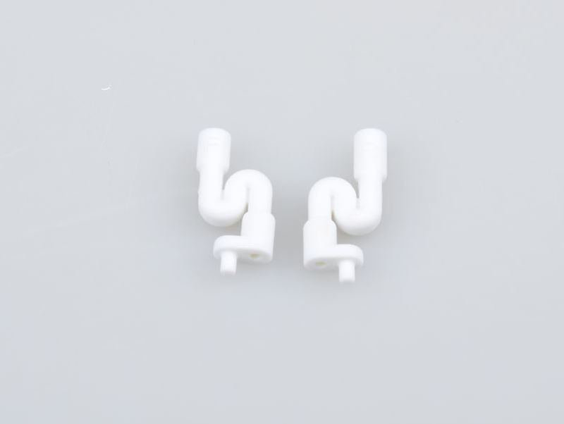 Picture of THE JQRacing White Fuel Tank Post (2pcs)