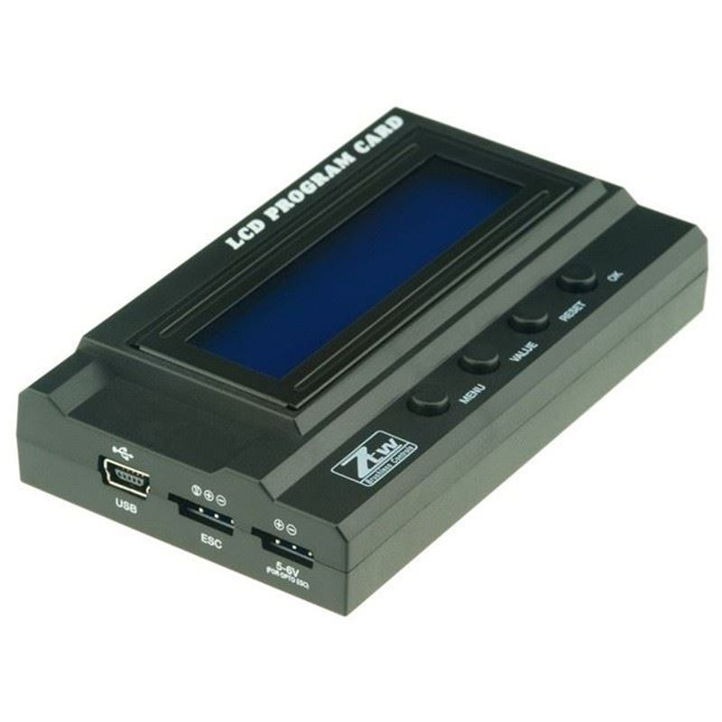 Picture of ZTW LCD Program Card