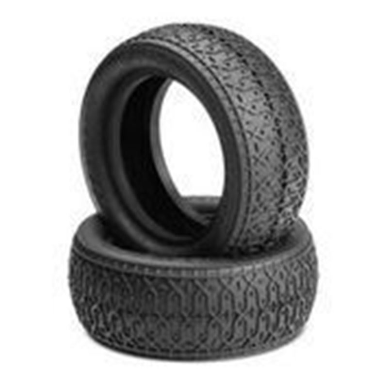 """Picture of JConcepts Dirt Webs 2.2"""" 4wd Front Buggy Tire (Silver) (2pcs)"""