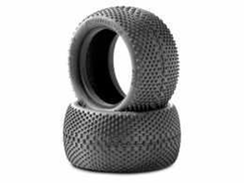 """Picture of JConcepts Double Dee's 2.2"""" Rear Buggy Tire (Green) (2pcs)"""