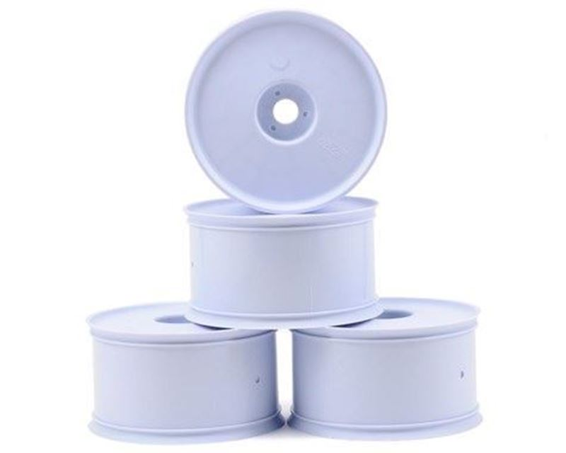 Picture of JConcepts Elevated Bead 1/8th Truck Wheel (White) (4pcs)