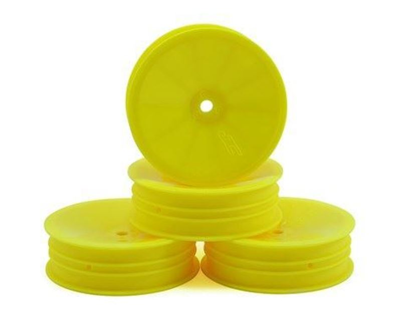 "Picture of JConcepts Mono 2.2 ""Slim"" Front Wheel (Yellow) (4pcs)"